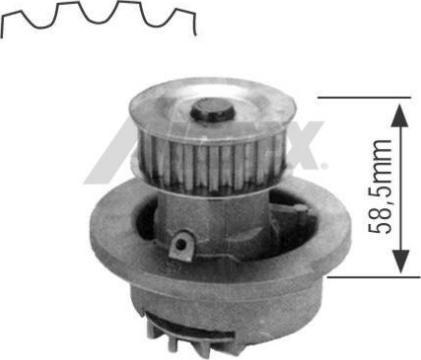 Airtex 1164 - Водяной насос car-mod.com