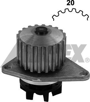 Airtex 1212 - Водяной насос car-mod.com