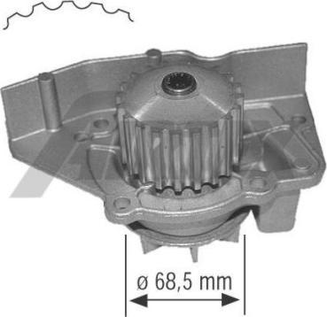 Airtex 1361 - Водяной насос car-mod.com
