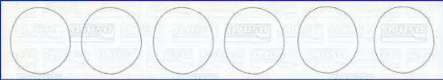 Ajusa 60004300 - Комплект прокладок, гильза цилиндра car-mod.com