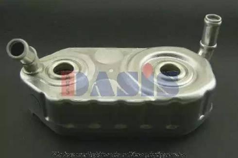 AKS Dasis 046020N - Масляный радиатор, двигательное масло car-mod.com
