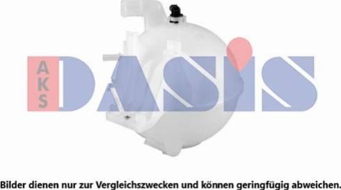 AKS Dasis 133005N - Компенсационный бак, охлаждающая жидкость autodnr.net