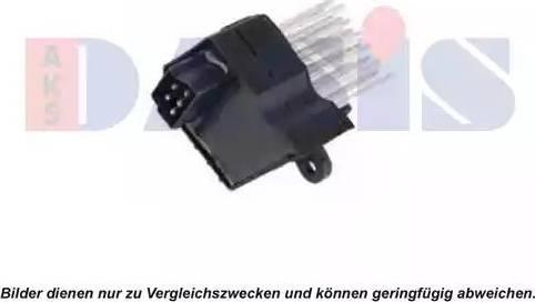 AKS Dasis 700016N - Регулятор, вентилятор салона car-mod.com