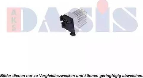AKS Dasis 740112N - Блок управления, отопление / вентиляция car-mod.com