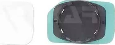Alkar 6401285 - Зеркальное стекло, наружное зеркало car-mod.com