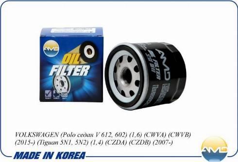 AMD AMDFL719 - Масляный фильтр autodnr.net