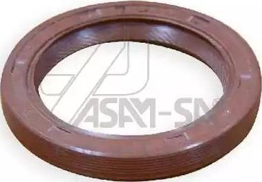 ASAM 01337 - Уплотняющее кольцо, коленчатый вал car-mod.com