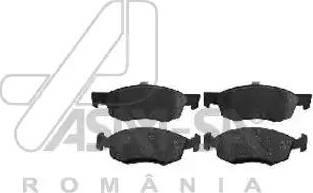 ASAM 30313 - Комплект тормозных колодок, дисковый тормоз autodnr.net