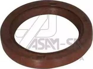ASAM 30420 - Уплотняющее кольцо, коленчатый вал autodnr.net