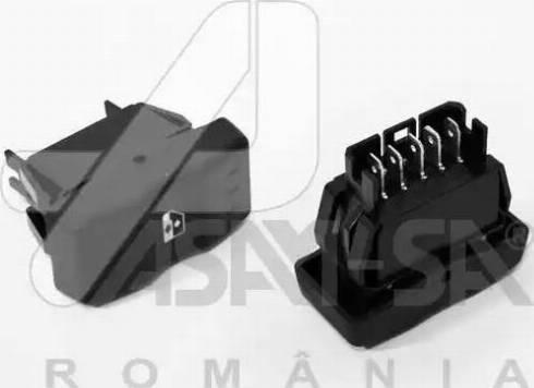 ASAM 30990 - Выключатель, стеклолодъемник autodnr.net