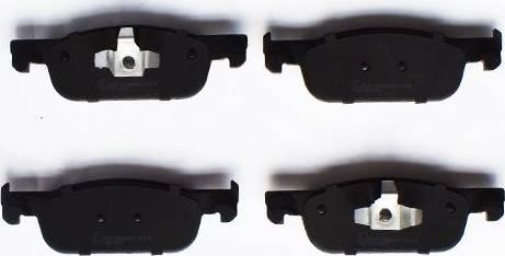 ASAM 55163 - Тормозные колодки, дисковые car-mod.com