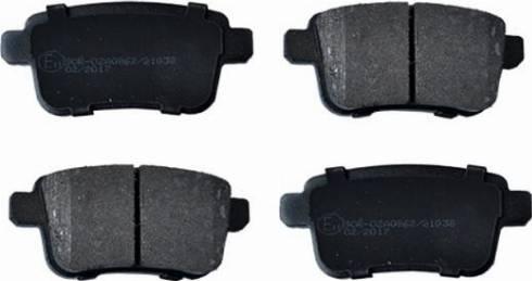 ASAM 55405 - Комплект тормозных колодок, дисковый тормоз autodnr.net