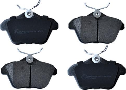 ASAM 55445 - Комплект тормозных колодок, дисковый тормоз autodnr.net