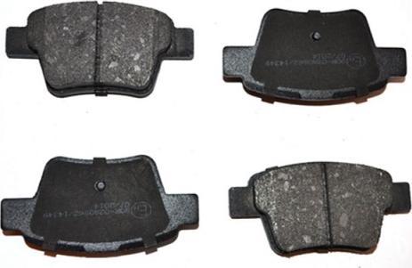 ASAM 71369 - Комплект тормозных колодок, дисковый тормоз autodnr.net