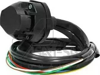 ASAM 98045 - Комплект электрики, прицепное оборудование autodnr.net