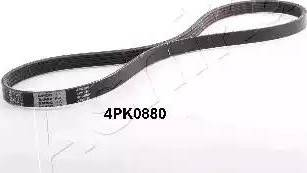 Ashika 1124PK880 - Поликлиновый ремень avtokuzovplus.com.ua