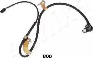 Ashika 151-08-800 - Датчик ABS, частота вращения колеса autodnr.net