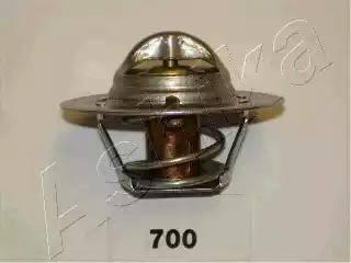 Ashika 3807700 - Термостат, охлаждающая жидкость avtokuzovplus.com.ua