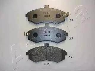 Ashika 50-H0-013 - Тормозные колодки, дисковые car-mod.com