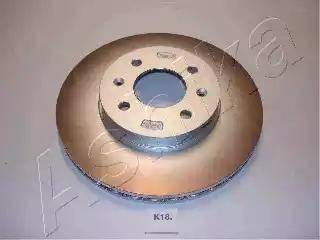 Ashika 60-0K-K18 - Тормозной диск autodnr.net