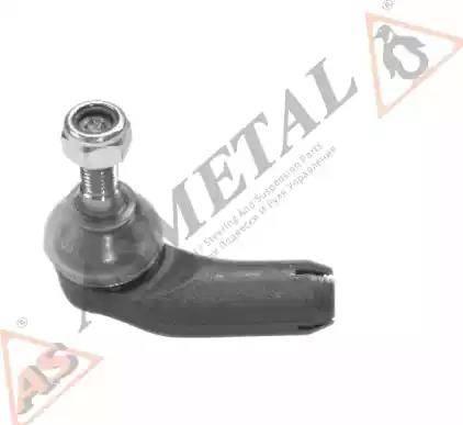 AS Metal 17AU1000 - Наконечник рульової тяги, кульовий шарнір autocars.com.ua