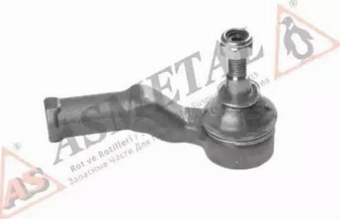 AS Metal 17FR1705 - Наконечник рульової тяги, кульовий шарнір autocars.com.ua