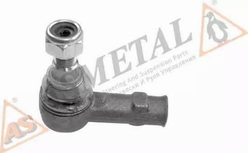 AS Metal 17MR0700 - Наконечник рульової тяги, кульовий шарнір autocars.com.ua