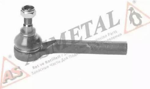 AS Metal 17OP1010 - Наконечник рульової тяги, кульовий шарнір autocars.com.ua