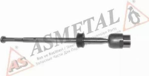 AS Metal 20VW1011 - Осьовий шарнір, рульова тяга autocars.com.ua