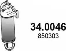 ASSO 340046 - Катализатор autodnr.net