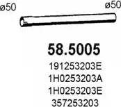 ASSO 585005 - Труба выхлопного газа autodnr.net