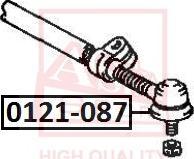 ASVA 0121-087 - Наконечник поперечной рулевой тяги autodnr.net