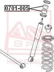 ASVA 0701005 - Подвеска, рычаг независимой подвески колеса autodnr.net