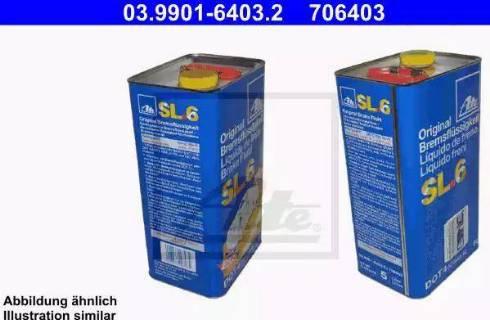 ATE 03.9901-6403.2 - Тормозная жидкость car-mod.com