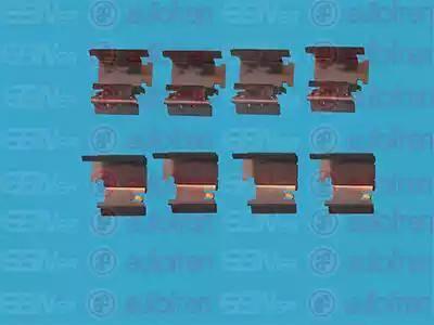 AUTOFREN SEINSA D42343A - Комплектующие, колодки дискового тормоза avtokuzovplus.com.ua