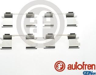 AUTOFREN SEINSA D42384A - Комплектующие, колодки дискового тормоза avtokuzovplus.com.ua