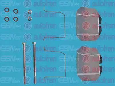 AUTOFREN SEINSA D42403A - Комплектующие, колодки дискового тормоза autodnr.net