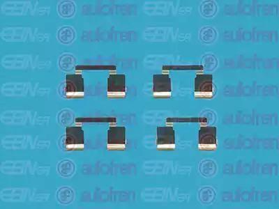 AUTOFREN SEINSA D42466A - Комплектующие, колодки дискового тормоза avtokuzovplus.com.ua