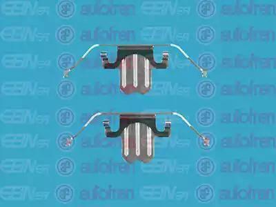 AUTOFREN SEINSA D42477A - Комплектующие, колодки дискового тормоза avtokuzovplus.com.ua