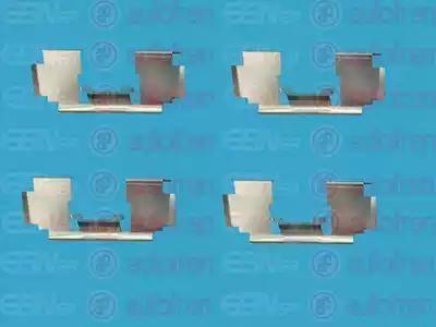 AUTOFREN SEINSA D42484A - Комплектующие, колодки дискового тормоза avtokuzovplus.com.ua