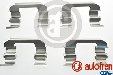 AUTOFREN SEINSA D42486A - Комплектующие, колодки дискового тормоза avtokuzovplus.com.ua