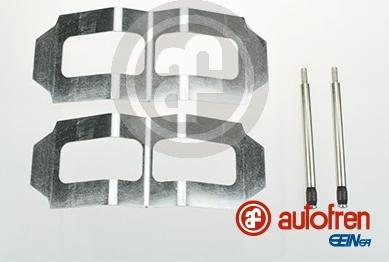 AUTOFREN SEINSA D42487A - Комплектующие, колодки дискового тормоза avtokuzovplus.com.ua