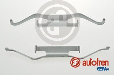 AUTOFREN SEINSA D42488A - Комплектующие, колодки дискового тормоза avtokuzovplus.com.ua