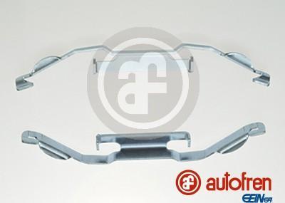 AUTOFREN SEINSA D42490A - Комплектующие, колодки дискового тормоза avtokuzovplus.com.ua