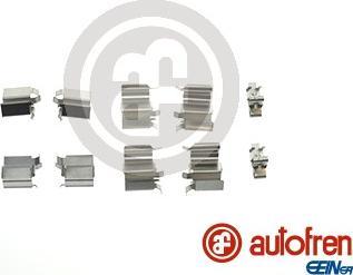 AUTOFREN SEINSA D42545A - Комплектующие, колодки дискового тормоза avtokuzovplus.com.ua
