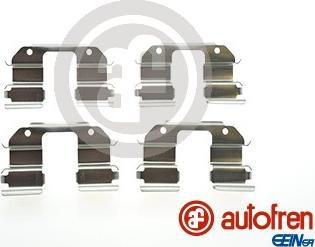 AUTOFREN SEINSA D42546A - Комплектующие, колодки дискового тормоза avtokuzovplus.com.ua
