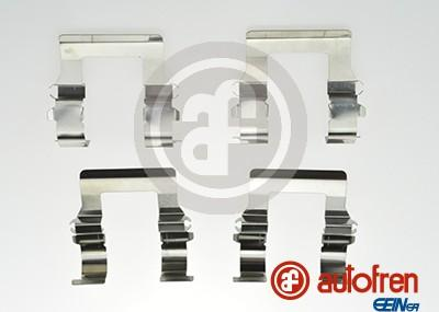 AUTOFREN SEINSA D42547A - Комплектующие, колодки дискового тормоза avtokuzovplus.com.ua