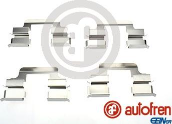 AUTOFREN SEINSA D42548A - Комплектующие, колодки дискового тормоза avtokuzovplus.com.ua