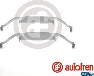 AUTOFREN SEINSA D42558A - Комплектующие, колодки дискового тормоза avtokuzovplus.com.ua