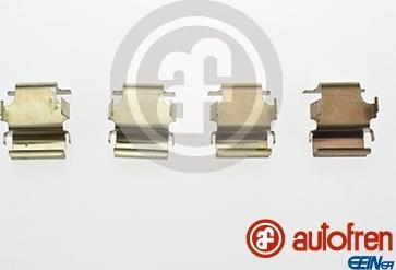 AUTOFREN SEINSA D42560A - Комплектующие, колодки дискового тормоза avtokuzovplus.com.ua